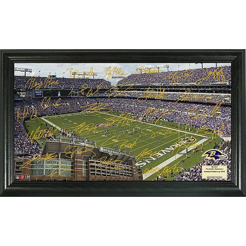 Highland Mint Baltimore Ravens 2012 Signature Gridiron - NFLShop.com --> get something like this that's limited edition for him?