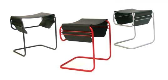 MIO's Recycled Tire Rubber Stools