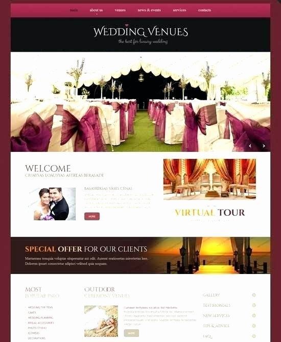 Wedding Website Template Free Best Of Wedding Web Page Template Free E Page Wedding Website Template E