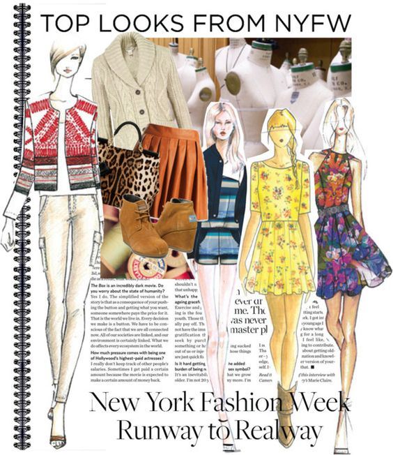 """""""NYFW"""" by ipeace-1899 ❤ liked on Polyvore"""