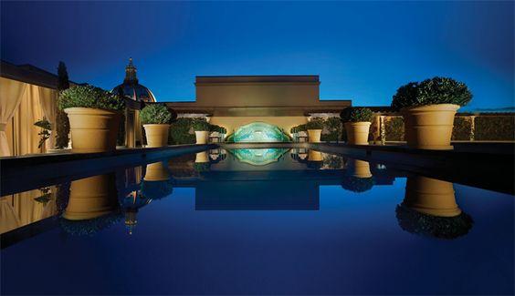 L. Raphael au Spa Montage Beverly Hills.
