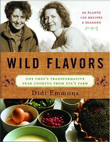 """""""Wild Flavors"""" is much more than a cookbook, highlighting four of Eva's core principals, woven throughout the year: salvaging, community, bartering and preserving. The book features 46 plant profiles and 150 amazing recipes, along with important basics like vital gadgets for your kitchen, foraging and preparation techniques, how to best grow and snip your own herbs and just the right time to add them to a dish you're cooking."""