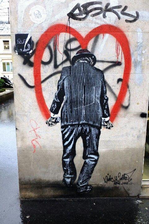 Paris 11 - boulevard beaumarchais - street art - nick walker...