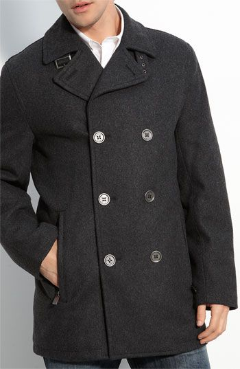 Michael Kors Peacoat - that's a nice brand, right?  Alex says he will wear one when he is 60, which is in 5 years.