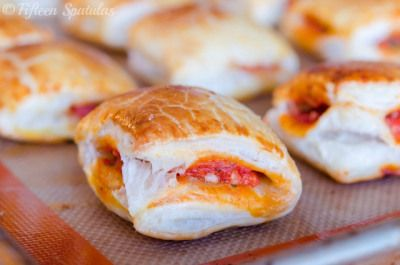 Pepperoni Pizza Puffs wow