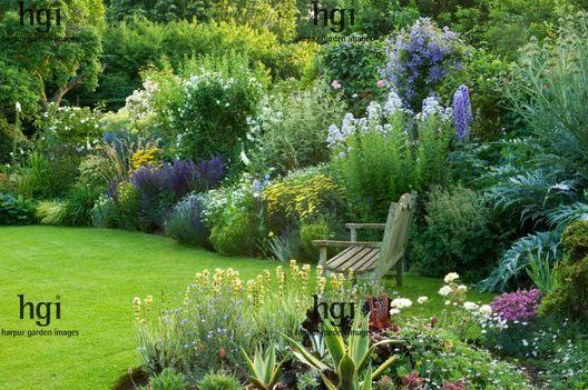 Garden Borders Inspiration : Harpur garden images egc traditional english