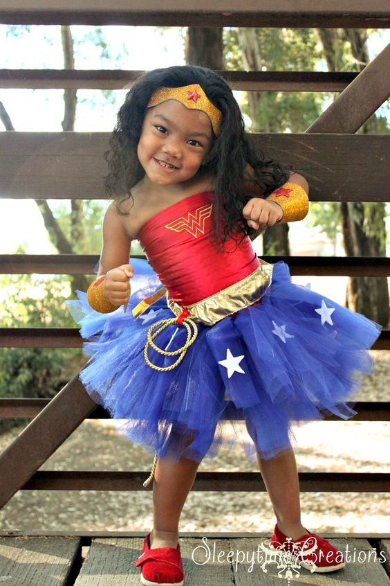 never to early to be Wonder Woman!!!