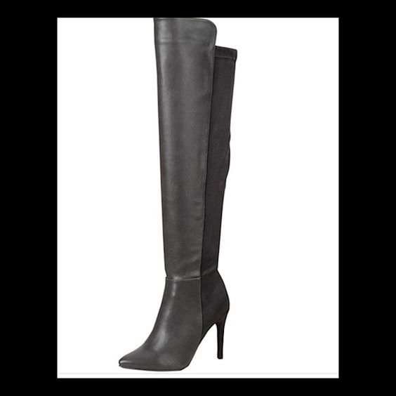 Breckelles Thigh High Black Boots Size 10 | The o'jays, Shoes and ...