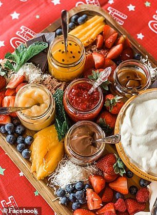 Christmas Food Trends 2020 Pavlova grazing boards are the latest food trend making waves this
