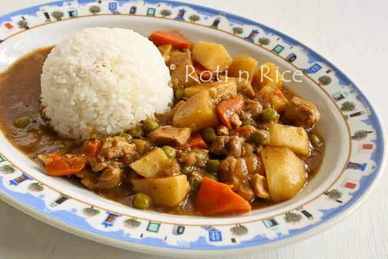 Mild and delicious Japanese Curry Rice made from scratch using curry ...
