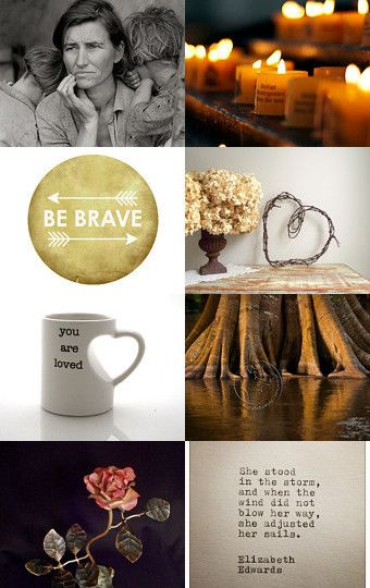 """""""brave: staying strong"""" - Carter, of WomanShopsWorld, really outdid herself when she curated this inspirational Etsy treasury.  I'm honored that my painting """"Vamp"""" was included here. --Pinned with TreasuryPin.com"""
