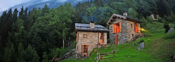 The Haylofts- in the Italian Alps