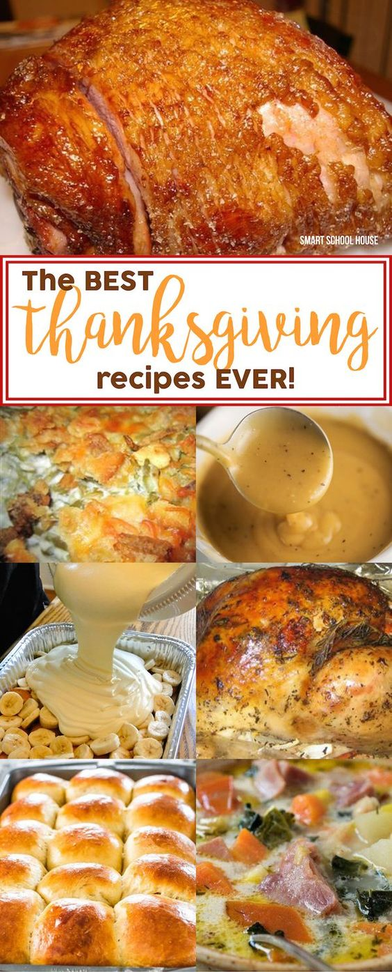 The BEST Thanksgiving Recipes EVER