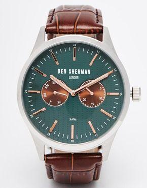 Ben Sherman - Orologio con cinturino in pelle