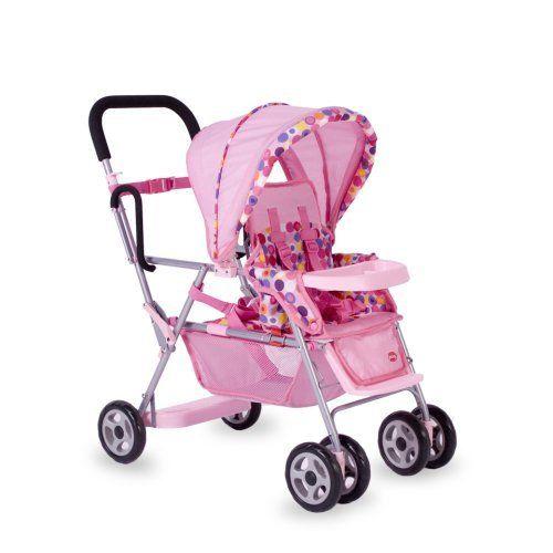 joovy toy doll caboose tandem stroller     amazon com  dp  b000leckbw