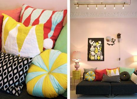 La maison d'Anna G.: Coloré chez Camilla Lundsten