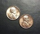 1963 P & D LINCOLN MEMORIAL PENNY BR. UNCIRCULATED  2 COINS  #BN72 - http://collectorcoinsforsale.com/1963-p-d-lincoln-memorial-penny-br-uncirculated-2-coins-bn72/
