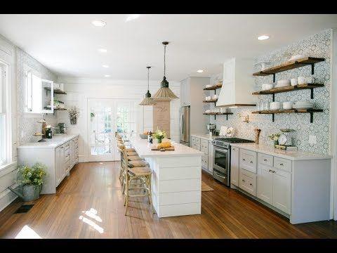 Home Youtube Farmhouse Style Kitchen Fixer Upper Kitchen Modern Farmhouse Kitchens