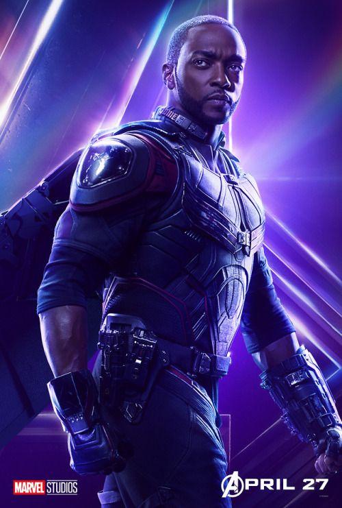Falcon Avengers Infinity War Poster Marvel Studios Marvel Superheroes Falcon Marvel