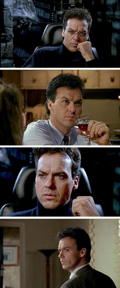 Nobody does that gaze better than Michael Keaton #batman #michaelkeaton:
