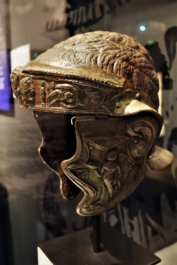 Roman Cavalry Helmet Brought To You By The Historyteller Podcast