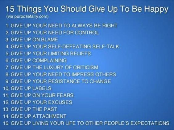 15 Things to live by...