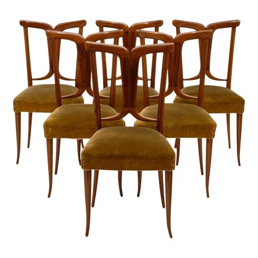 Vintage Used Dining Chairs For Sale Chairish In 2020 Dining Chairs Walnut Dining Chairs Dining Room Decor Modern