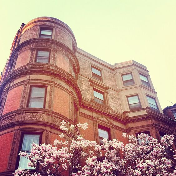 Back Bay in Spring