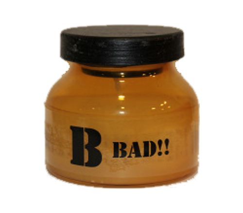 "Vela aromática en frasco cristal ""B bad"""