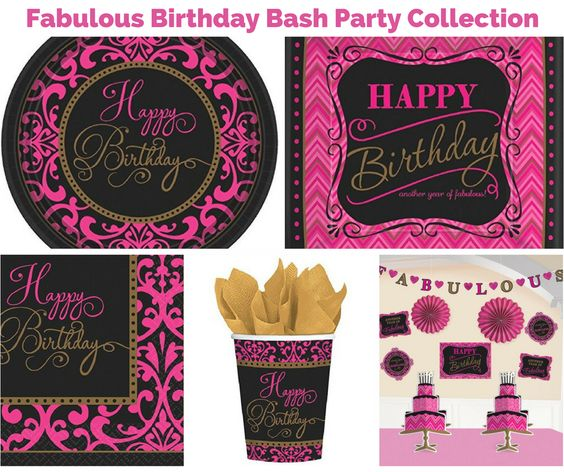 Fabulous Birthday Bash Party
