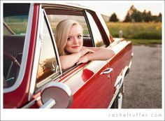senior pictures with a car - Google Search