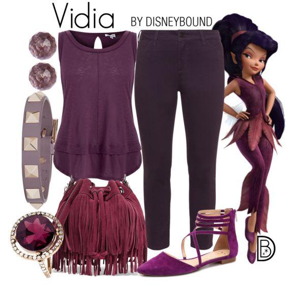 Disney Bound - Vidia