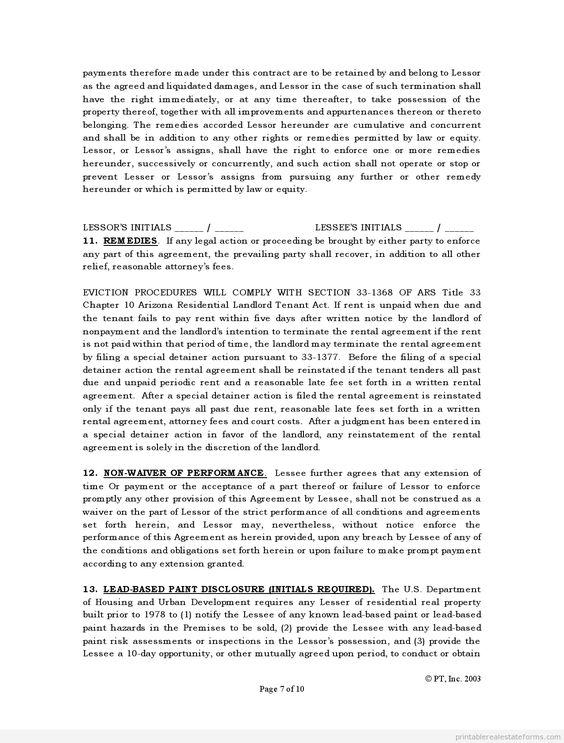 Pinterest The worlds catalog of ideas – Sample Standard Rental Agreement