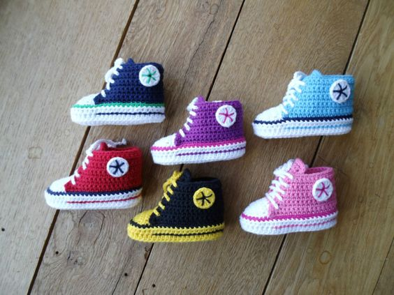 ★Chucks Sneaker ★ Turnschuhe - Babyschuhe von stern_design auf DaWanda.com