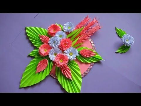 Diy Simple Home Decor Wall Decoration Hanging Flower Paper