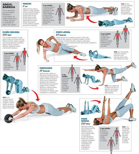 exercícios abdomen - Pesquisa do Google