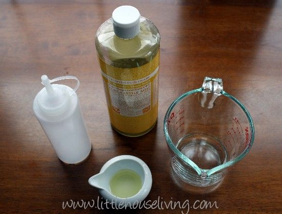 how to make your own organic shampoo
