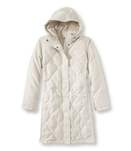 Microsuede Down Coat: Winter Jackets | Free Shipping at L.L.Bean