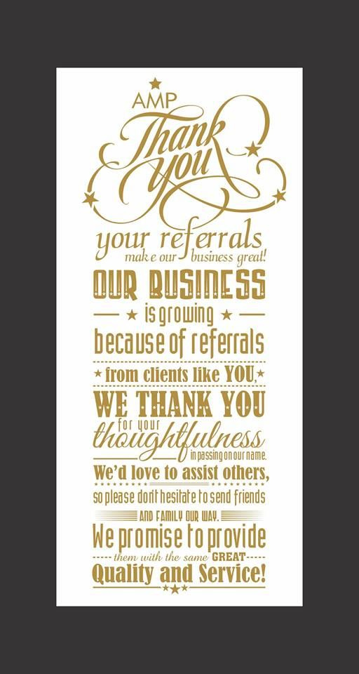 On this beautiful day we wish to thank our actors models for Referral quotes for business cards