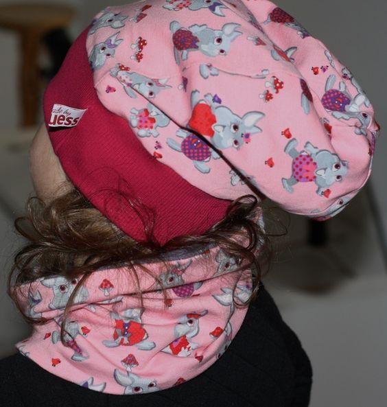 Weiteres - *Häschen* Beanie Mütze zum Wenden - ein Designerstück von kasuess bei DaWanda