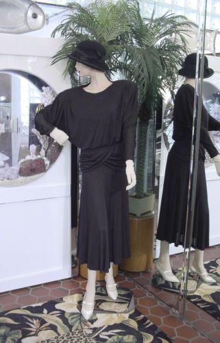 dress flapper modern millie gatsby downton abby silk talbots