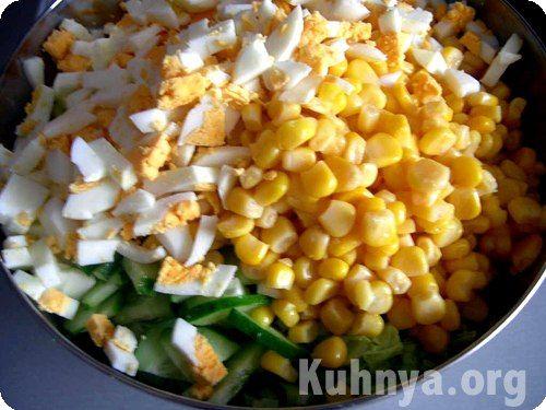 Салат из кукурузы яиц рецепты с фото