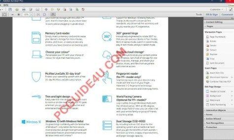 Add Watermark In Pdf File With Adobe Acrobat Pro Xi Pcguide4u Ads Watermark Pdf