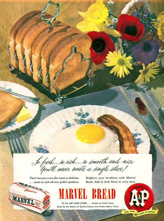 A & P JANE PARKER BREAD WOMAN'S DAY 09/01/1949 p. 59