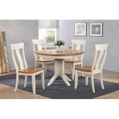 Three Posts Barrington 5 Piece Dining Set Reviews Wayfair Dining Furniture Makeover Furniture Dining Table Wayfair kitchen table and chairs