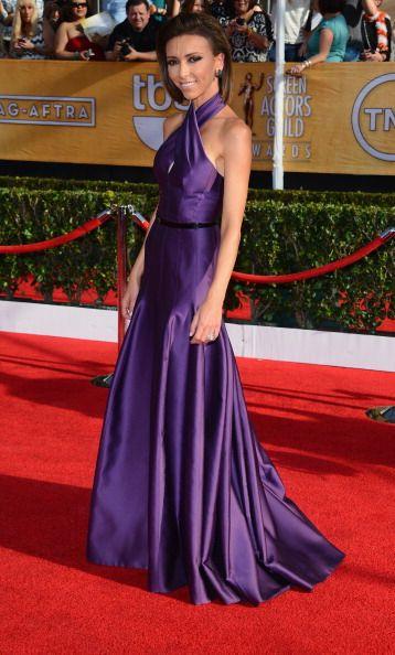 Giuliana Rancic in Basil Soda - 2014 SAG Awards