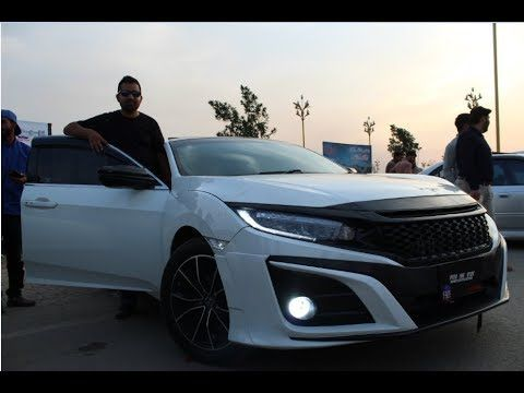Honda Civic X Fully Modified Pakwheels Gujrawala Auto Show Hd Honda Civic Civic Honda
