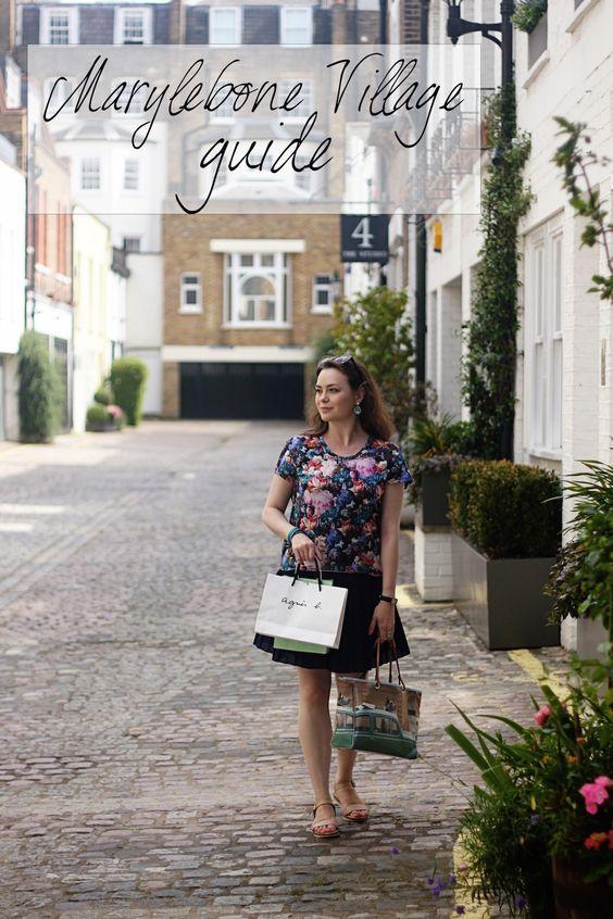 Marylebone Village Guide   Miranda's Notebook