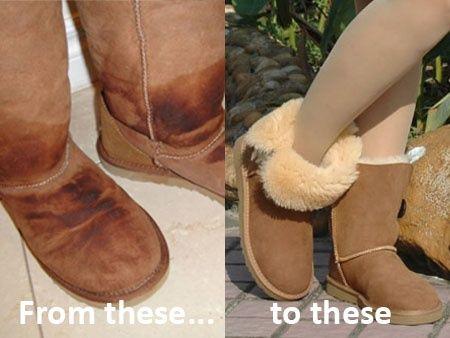 ugg boots wet inside