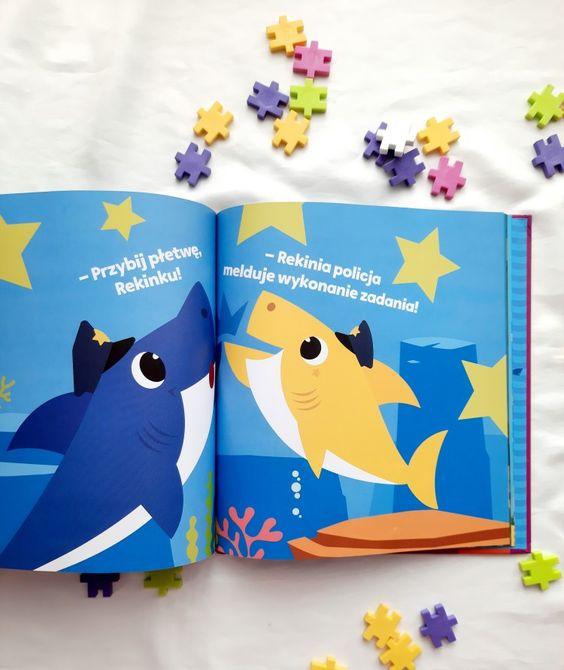 Bay shark książeczki